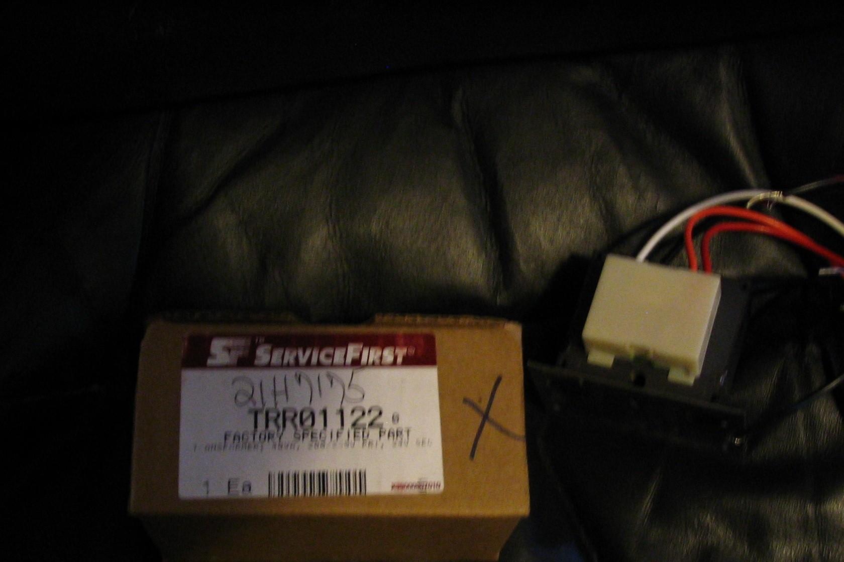 American Standard Trane TRR 01122 transformer old part TRR01322