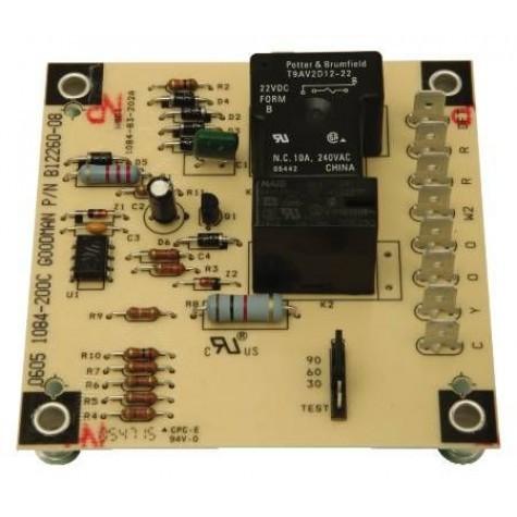 Goodman Amana Heat pump defrost board PCBDM101S old B12260-08S