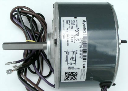 Goodman Condenser Fan Motor B13400251S goodman 1 6 hp 230v condenser fan motor b13400251s  at eliteediting.co