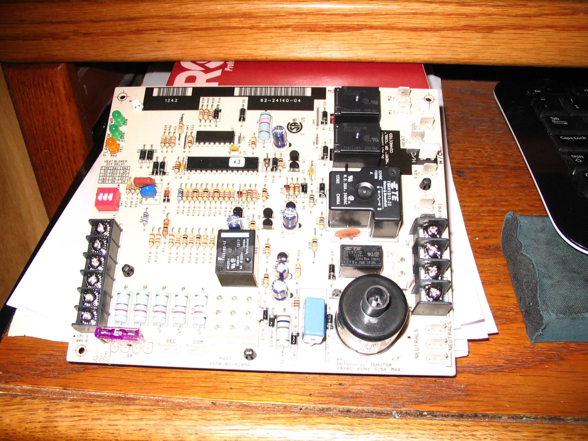 Rheem-Ruud Spark Ignition Circuit Board 62-24140-04
