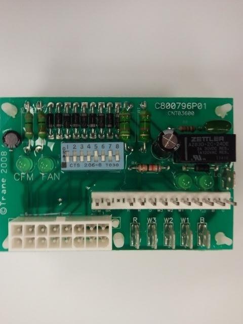 American Standard Trane 16 Pin, ICM Fan Control Module CNT03600