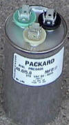 35/5  MFD 370 Volt Dual OVAL Capacitor