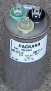 40/5  MFD 440 Volt Dual ROUND Capacitor