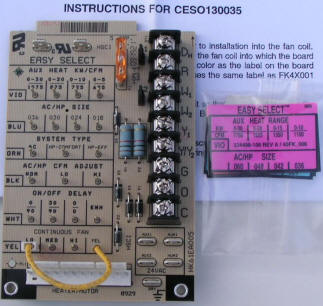 bryant carrier air handler control board hk61ea005
