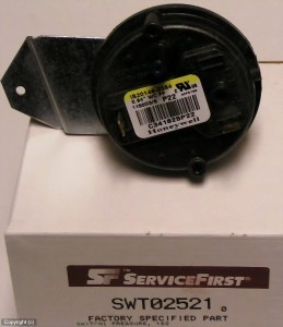 American Standard Trane swt02521pressure switch