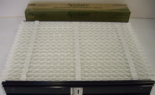 Aprilaire 213 air filter fits the Aprilaire 2200, 2210 and 4200 media air cleaners