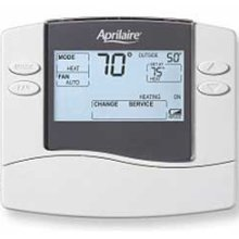 Aprilaire 8444 Non-Programmable 1 Heat/1 Cool Thermostat