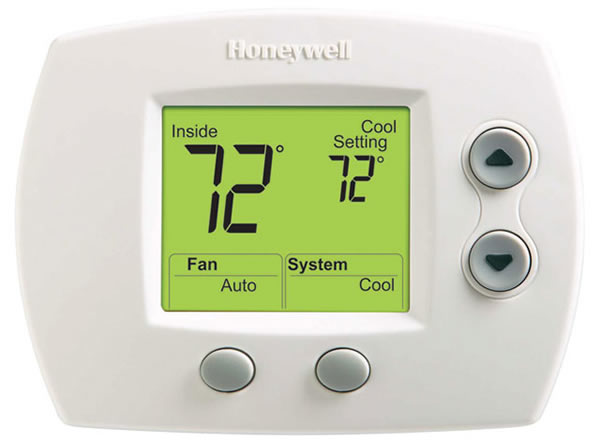Honeywell TH511OD1022 Non-Programmable Pro 5000 Single Stage Thermostat