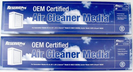 General Air Cleaner Media Part #12758