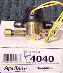 Aprilaire Water Solenoid Valve 4040