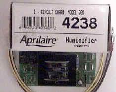 Aprilaire Circuit board # 4238
